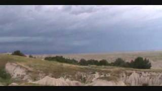 Day 2 -- Severe Thunderstorm at Badlands National Park, South Dakota