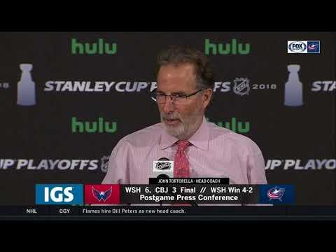 John Tortorella: Better team won series, Washington was 'stingy' | BLUE JACKETS-CAPITALS POSTGAME