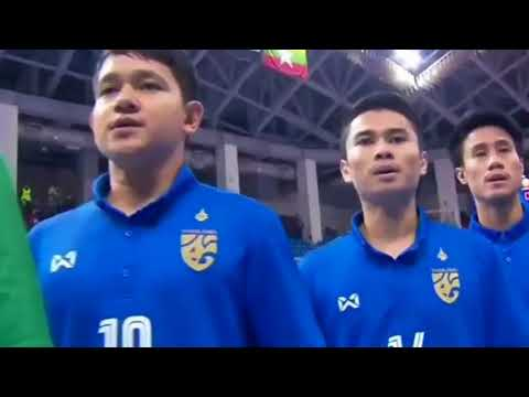 Thailand vs Kyrgyzstan - national anthems