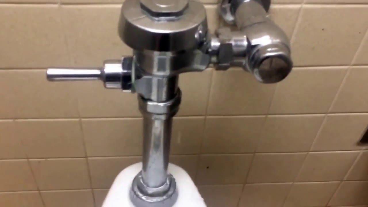 230 Leaky Sloan Royal Flushometer YouTube
