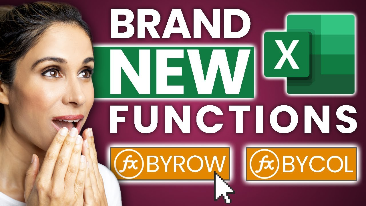 Download How You Can Actually Use the NEW Excel BYROW & BYCOL Functions