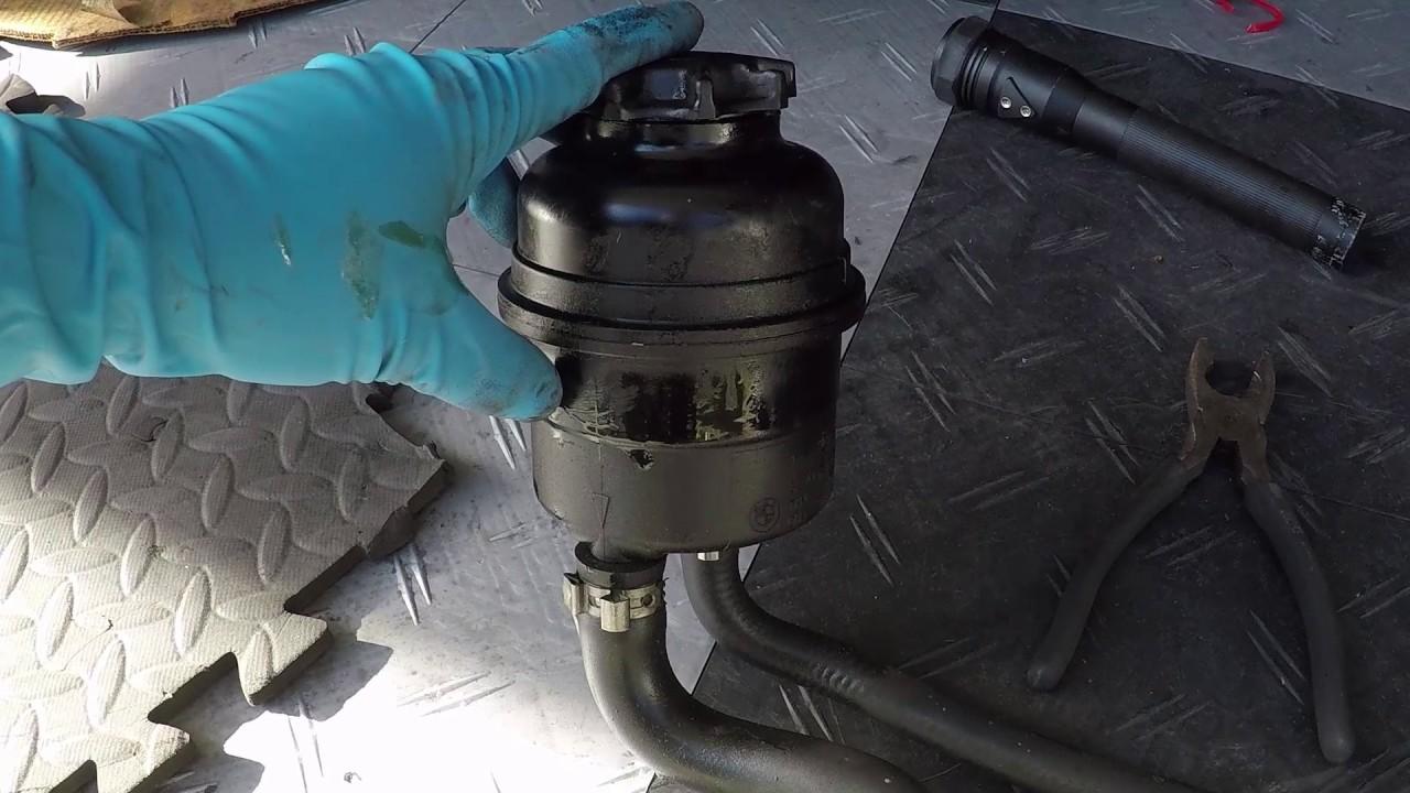 power steering leak fix bmw e46 m3 youtube. Black Bedroom Furniture Sets. Home Design Ideas