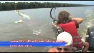 Bowfishing Flying Carp Extreme Non-Stop Action