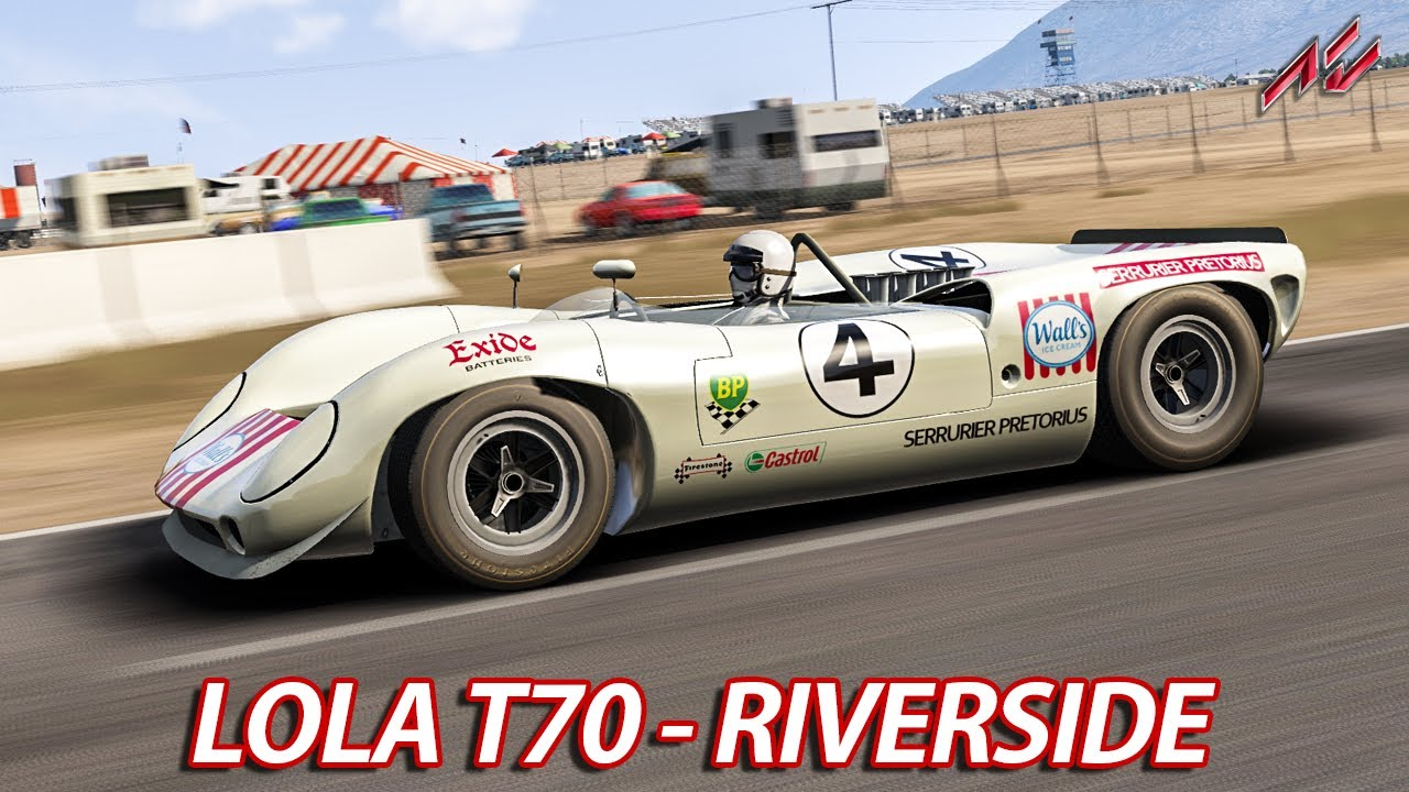 schnellstes auto der welt 1966 assetto corsa hd ger lola t70 riverside international. Black Bedroom Furniture Sets. Home Design Ideas