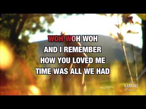 Endless Summer Nights in the style of Richard Marx | Karaoke with Lyrics