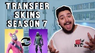How To Transfer Skins On Fortnite | SEASON 7