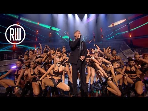 Robbie Williams | BRIT Awards 2017 | The Heavy Entertainment Show Medley Mp3