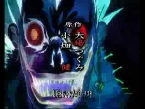 Death Note Opening (Maximum the Hormone-What's Up People).
