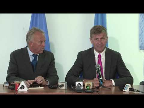 The Executive Director of the United Nations Environment Programme, Erik Solheim, Visited Somalia
