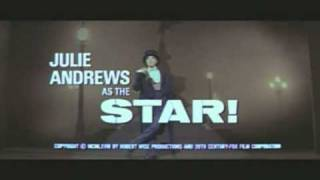 STAR! Original Trailer - Julie Andrews