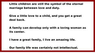 Family Quotes: Little children are still the symbol of the eternal marriage between love and duty.