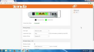 how to configure tenda d151 wireless adsl router as access point