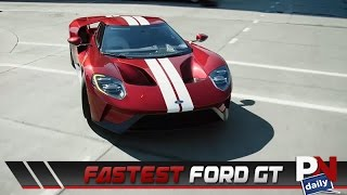 Ford Gt Nurburgring Time The Gt Is Officially Fords Fastest Production Car