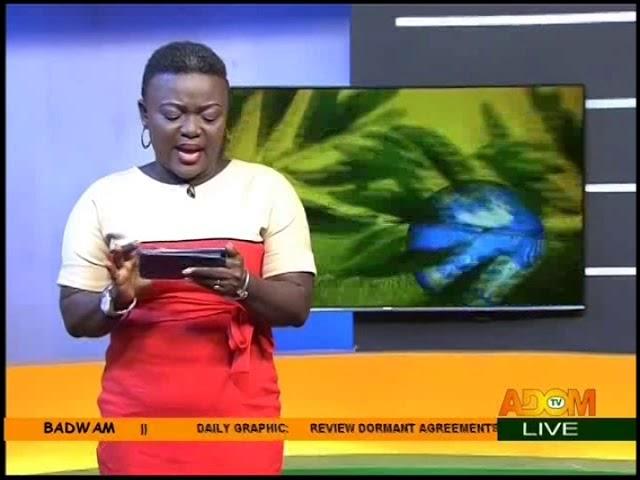 Badwam Intro on Adom TV (16-10-18)