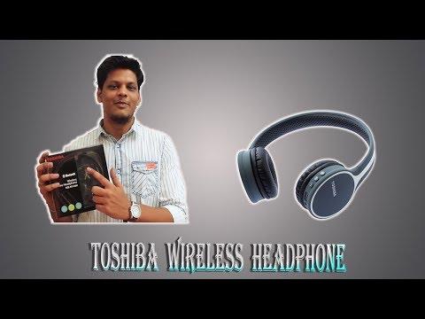 TOSHIBA RZE-BT180H Headphones Unboxing & Review - Telugu