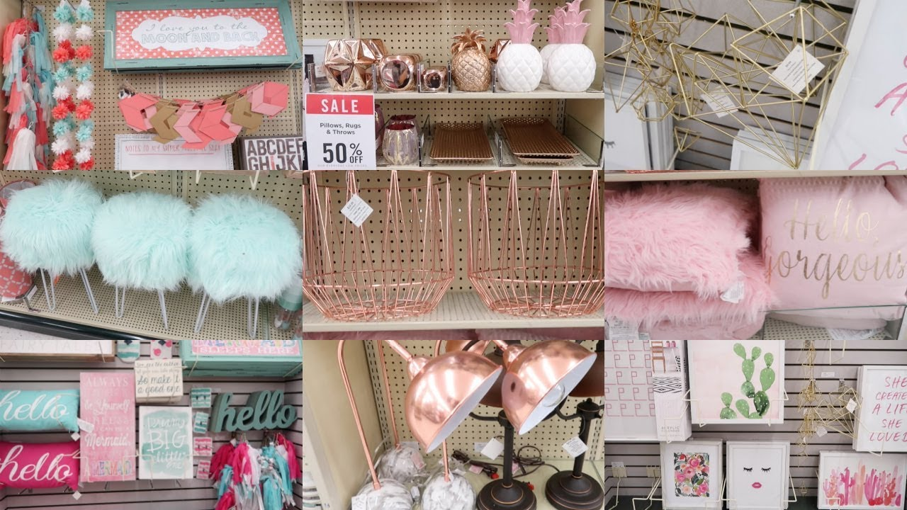 Back To School Dorm Ping Home Decor August 2017 Hobby Lobby