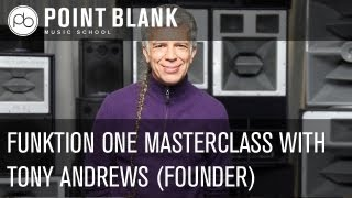Funktion One Live Masterclass with Tony Andrews (Founder)