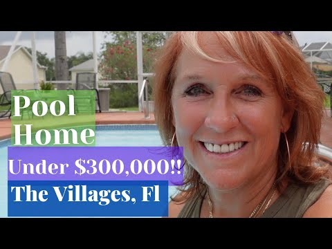 Pool Home under $300,000 in The Villages FL   Real Estate   Florida
