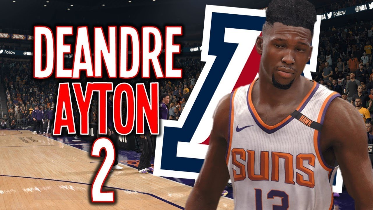 cheap for discount 4b6b2 f0820 DeAndre Ayton NBA Live 18 Career Mode Ep.2 Skills, Traits, and Starter (Nba  Live 18 The One)
