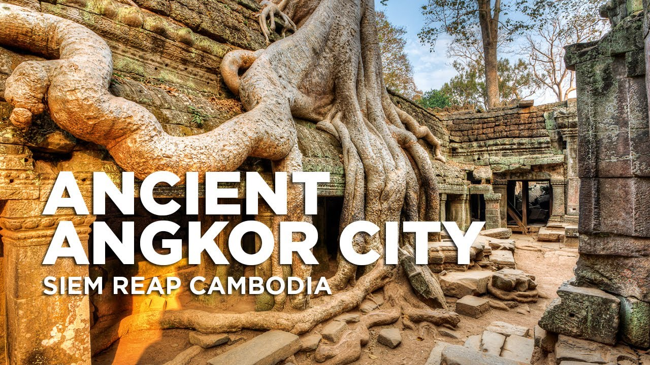 Angkor Wat Temples in Siem Reap | Ancient Angkor City | Cambodia Travel 2019
