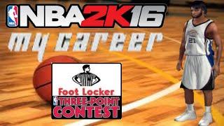 NBA 2K16 PS3 My Career - 2017 3-Point Contest - NBA 2K16 My Career PS3 & 25 hf4hs