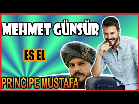 Cosas que no sabias de Mehmet Günsür (Príncipe Mustafa)