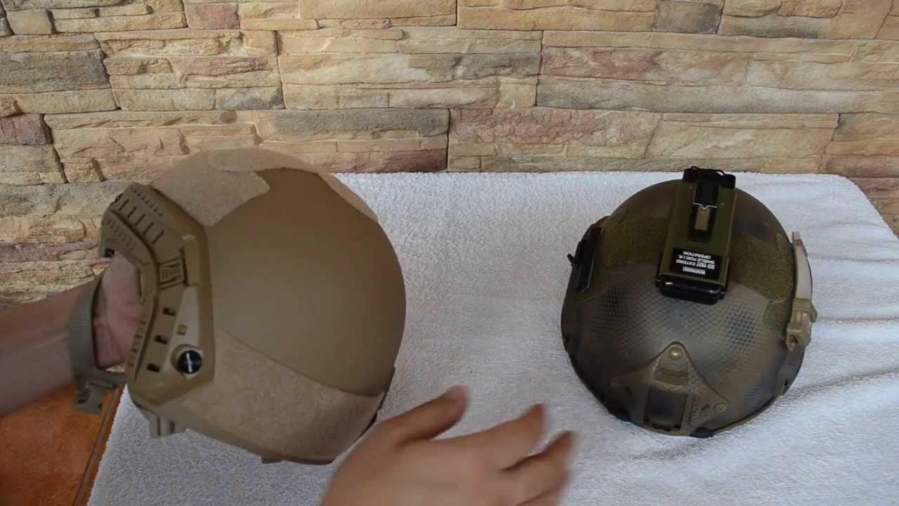Обзор шлема PASGT М88 с забралом - YouTube