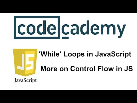 Learn JavaScript with Codecademy: More on Control Flow in JS
