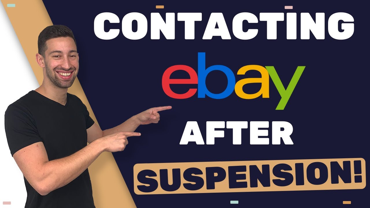 How To Contact eBay When There Is No Contact Option After Getting Suspended? (SECRET TIP)