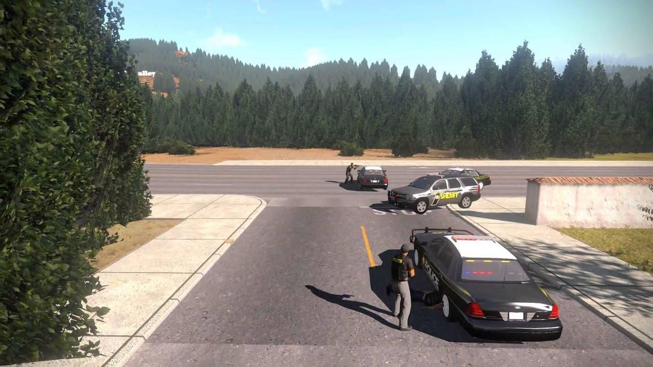 ArmA 3 Life Police Force Trailer