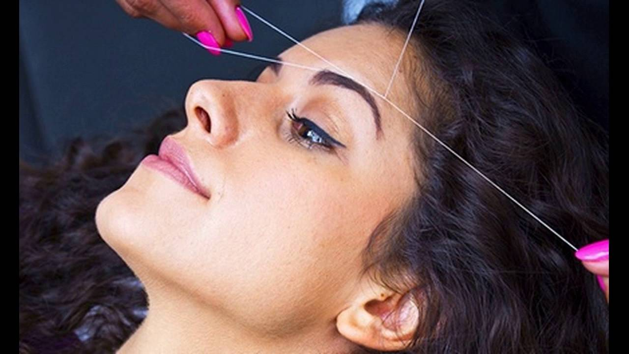 Over Plucking Or Over Accidental Threading Eyebrows Leads To Damage
