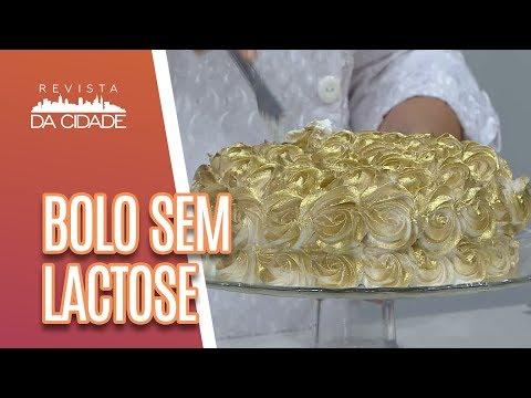 Faça E Venda: Bolo De Aniversário Sem Lactose - Revista Da Cidade (17/04/18)