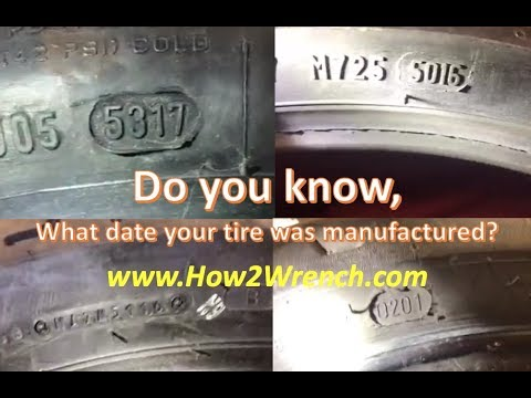 How To Read Motorcycle Tire Date Codes