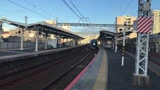 京成スカイライナー 千住大橋駅通過