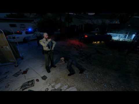 GTA 5 random crime scene