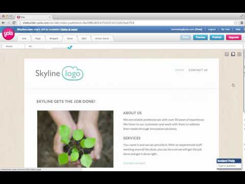 Meet Skyline: A template for businesses