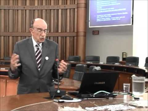 Guest Speaker Dr. Vuchic at Region of Waterloo Council Chambers July 11 2014