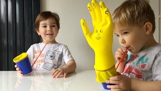 DIY | How To | Kaip padaryti paprastą smagų žaislą darželinukui per minutę? :)