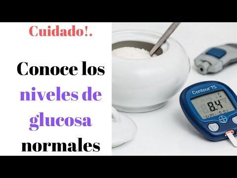 NIVELES DE GLUCOSA NORMALES | ¿Cuánto Es Lo Normal De Azúcar?