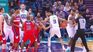 Michael Carter Williams vs Jayson Smith Tim Frazier fight Charlotte vs Wizards