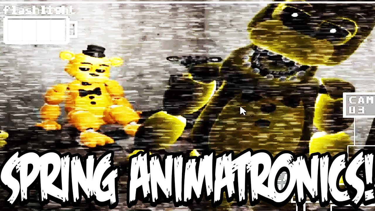 Fredbears family diner new update part 1 spring animatronics and