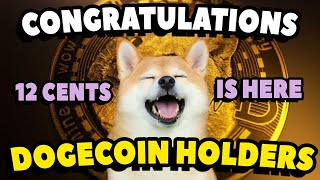 CONGRATULATIONS DOGECOIN INVESTORS! | DOGECOIN SPIKING LIKE CRAZY!! 🚀 DOGECOIN TO THE MOON!!🚀