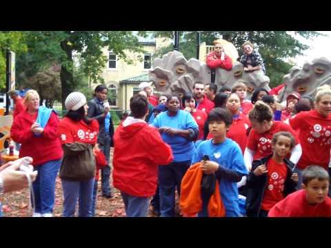 HandsOn Day 2009: Target at St Josephs Villa