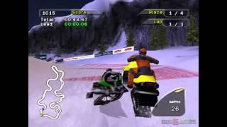 Snocross 2 Featuring Blair Morgan - Gameplay PS2 HD 720P