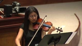 RECITAL DE VIOLÍN Y PIANO - BLOQUE 3