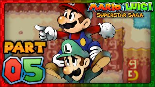 Mario & Luigi: Superstar Saga - Part 5 - HooHoo Mountain Summit!