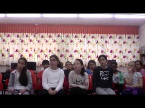 JETS Shutafut -- Hofit kids  in Haifa meet Forest Hills Jewish Center Kids in NY
