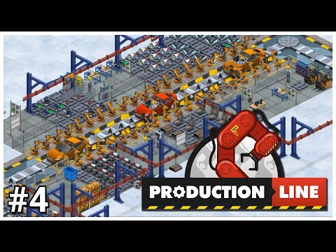 Production Line - #4 - POWER! - Let's Play / Gameplay / Construction