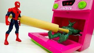 Голодные войны! Человек ПАУК против Зелёного Гоблина!