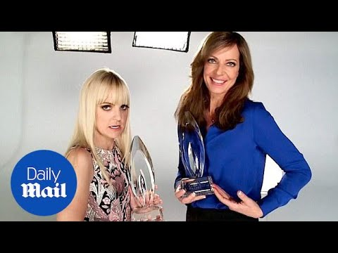 Anna Faris and Allison Janney prep for People's Choice 2015 - Daily Mail